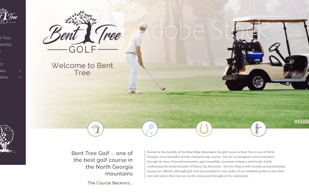Welcome to the New Bent Tree Golf Website