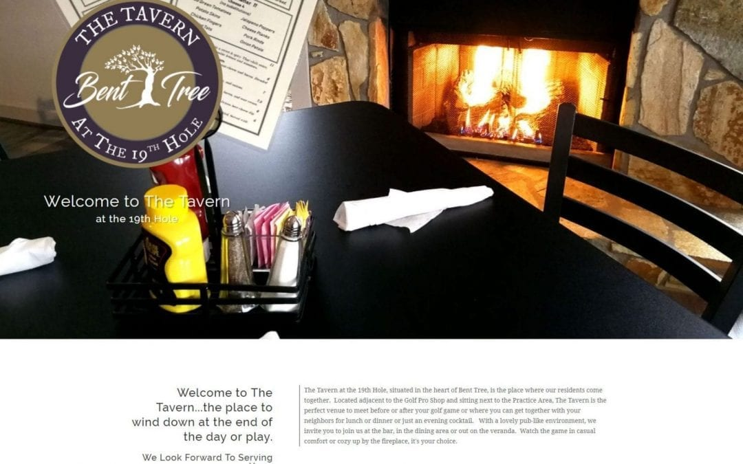 Welcome to the New Website for The Tavern